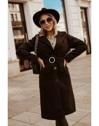 Kabát - kód 5657 - čierná