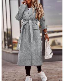 Kabát - kód 7989 - šedá