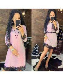 Šaty - kód 1426 - ružová