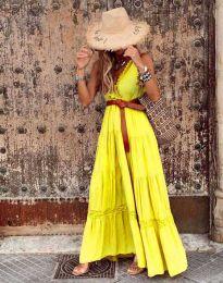 Šaty - kód 0817 - žltá