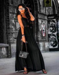 Šaty - kód 2301 - 2 - čierná