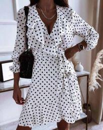 Šaty - kód 0438 - biela