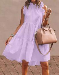 Šaty - kód 2663 - fialová