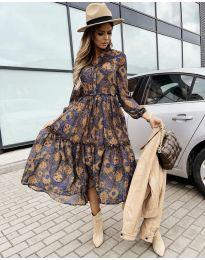 Šaty - kód 9660 - 7 - farebná