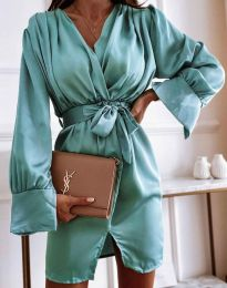 Šaty - kód 2741 - tyrkysová