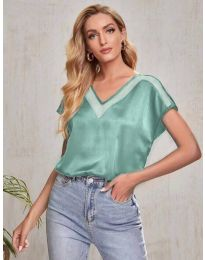 Tričko - kód 5754 - zelená