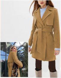 Kabát - kód 3113 - 1 - hnedá