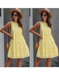 Šaty - kód 2123 - žltá