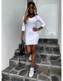 Šaty - kód 4040 - biela