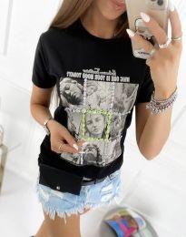 Tričko - kód 2353 - biela
