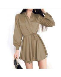 Šaty - kód 8754 - bežová