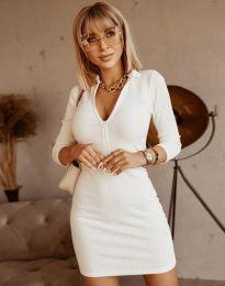 Šaty - kód 11643 - biela