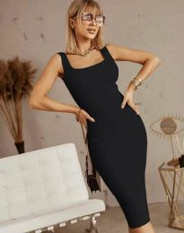 Šaty - kód 5965 - čierná
