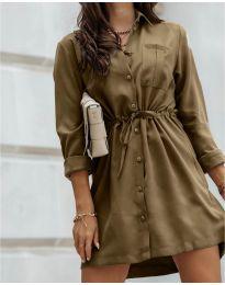 Šaty - kód 132 - hnedá