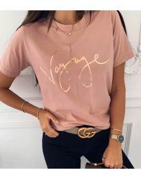 Tričko - kód 3350 - ružová