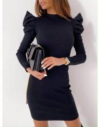 Šaty - kód 9303 - 4 - čierná