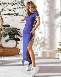 Šaty - kód 0715 - 3 - fialová
