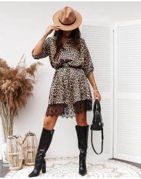 Šaty - kód 3635 - 2 - viacfarebné