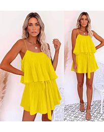 Šaty - kód 721 - žltá