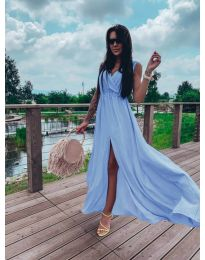 Šaty - kód 1174 - modrý