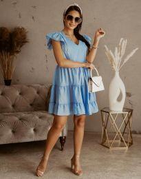 Šaty - kód 6224 - svetlo modrá