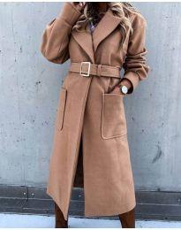 Kabát - kód 423 - hnedá