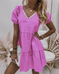 Šaty - kód 8292 - ružová