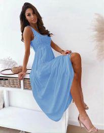 Šaty - kód 4807 - svetlo modrá