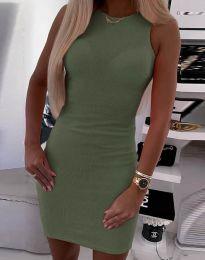Šaty - kód 9560 - zelená