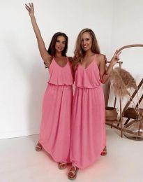 Šaty - kód 11993 - ružová