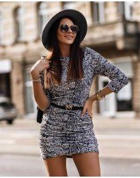 Šaty - kód 326 - 3 - viacfarebné