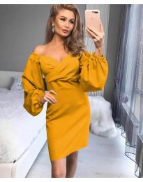 Šaty - kód 6761 - žltá