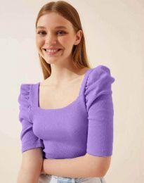 Tričko - kód 1300 - fialová