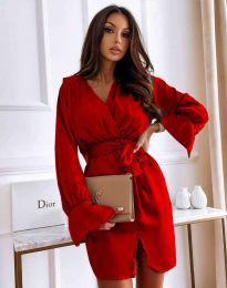 Šaty - kód 2741 - červená