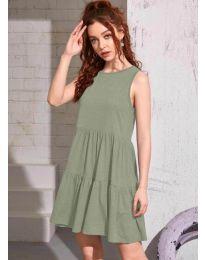Šaty - kód 4471 - olivová  zelená