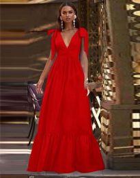 Šaty - kód 2743 - červená