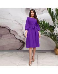 Šaty - kód 4571 - fialová