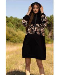 Šaty - kód 4546 - 1 - čierná