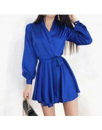 Šaty - kód 8745 - tmavomodrá
