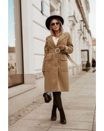 Kabát - kód 5657 - bežová