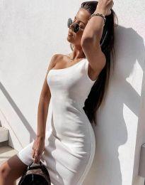 Šaty - kód 6412 - biela
