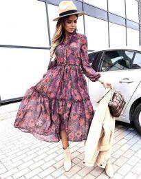 Šaty - kód 9660 - 4 - farebná